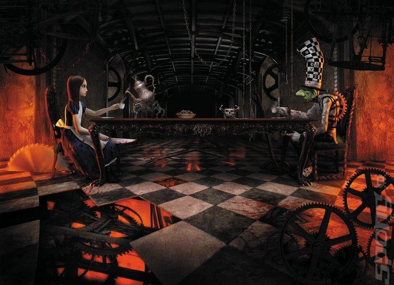 El lado oscuro de Alicia en el país de la maravillas