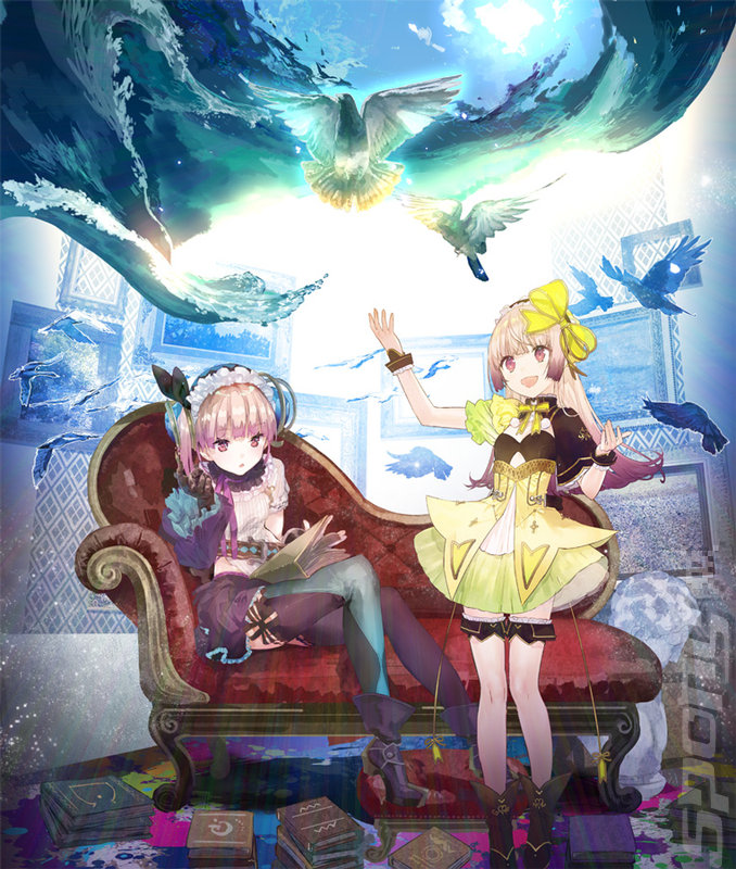 Atelier Lydie & Suelle: The Alchemists and the Mysterious Paintings - Switch Artwork