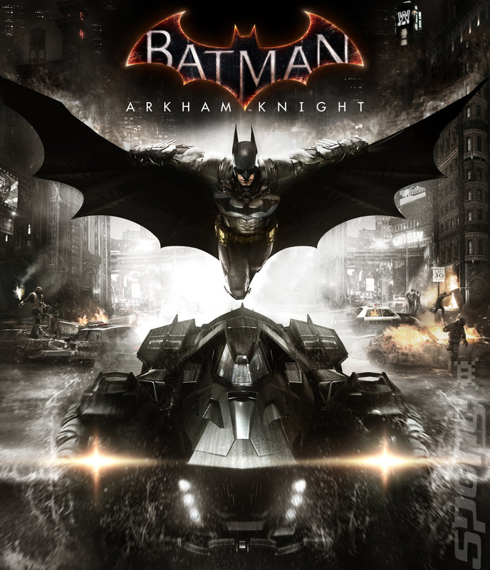 Batman: Arkham Knight - PS4 Artwork