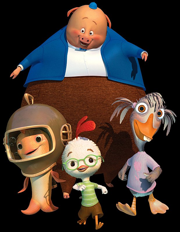From Chicken Little Kirby The Alien Chicken Little 2005 Stock Photo