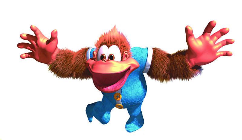 Donkey Kong Country 3 - GBA Artwork