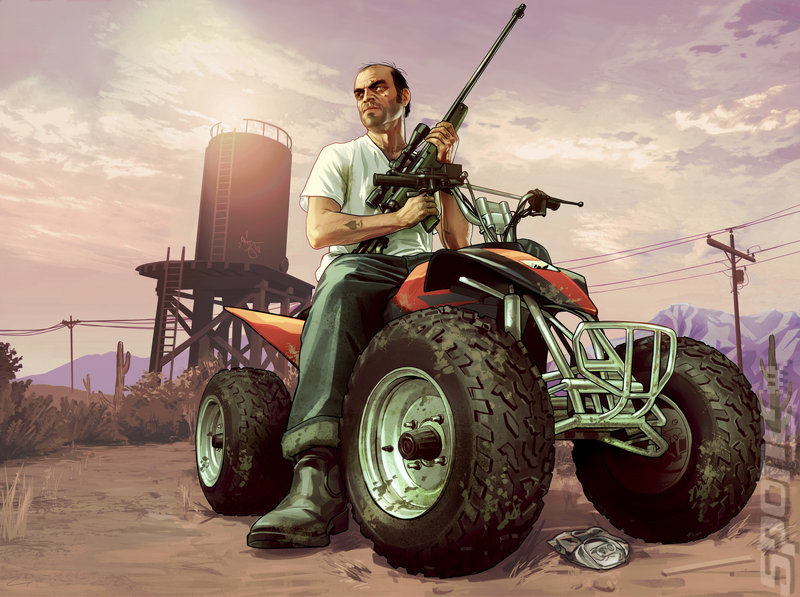 Grand Theft Auto V For XBOX360