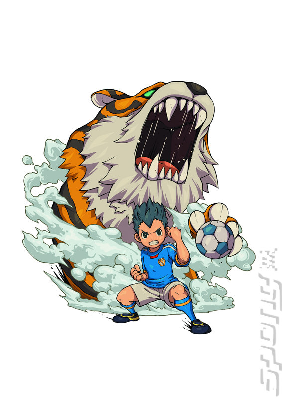Inazuma eleven 3 team ogre attacks 3ds 2ds artwork