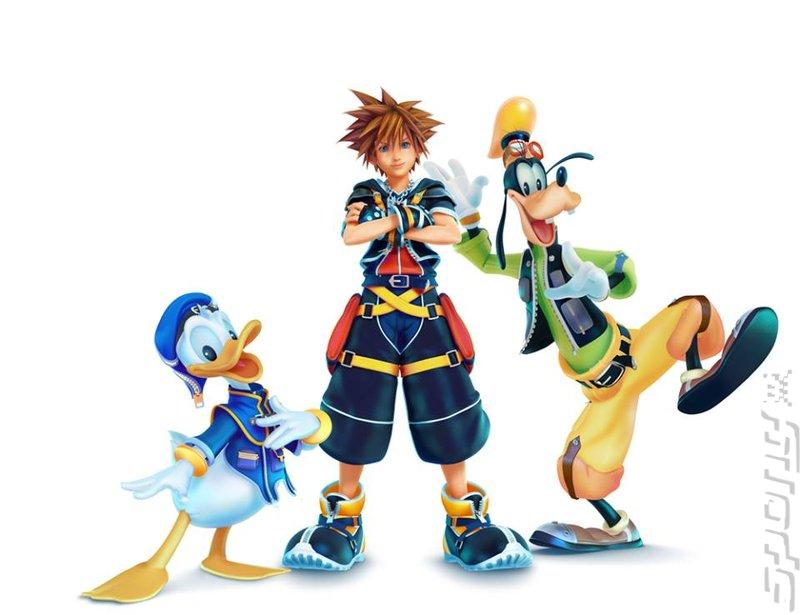 Kingdom Hearts III - PS4 Artwork