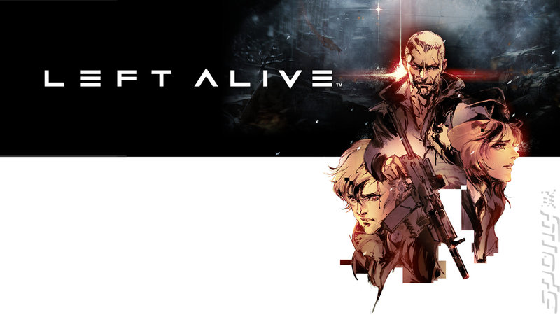 Left Alive - PS4 Artwork