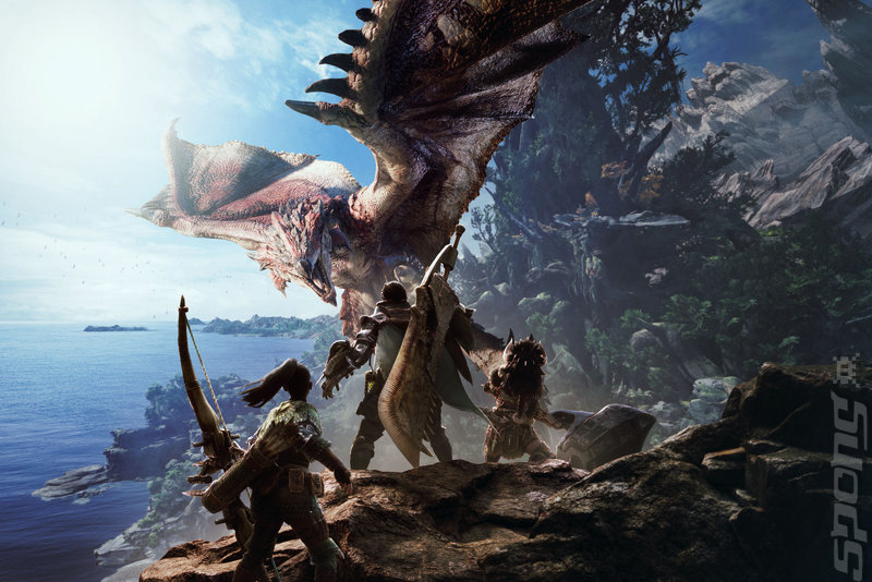 Monster Hunter World - PS4 Artwork