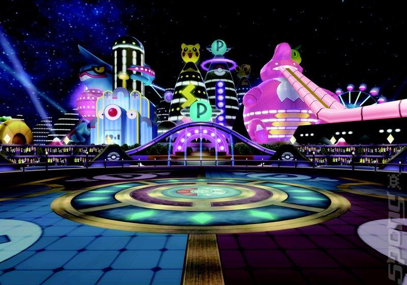 Pokémon en gérénal _-Pokemon-Battle-Revolution-Wii-_