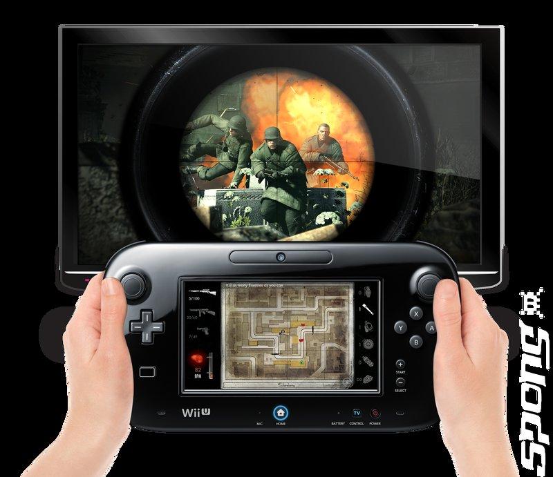 Sniper Elite V2 - Wii U Artwork