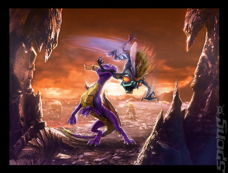 The Legend Of Spyro: Dawn Of The Dragon - PS3 Artwork