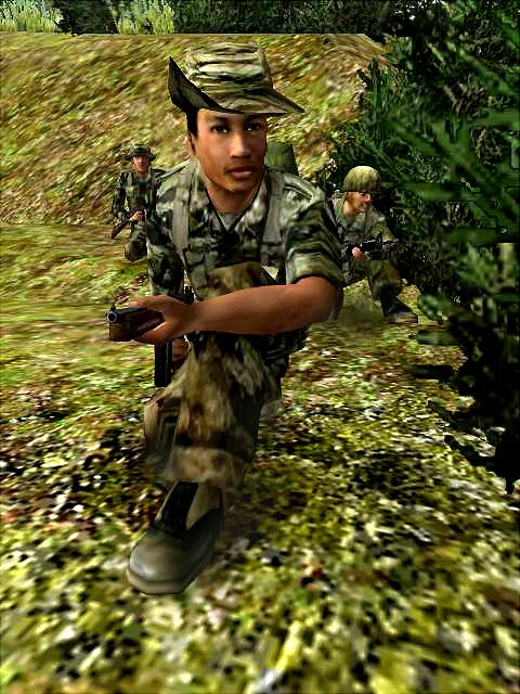 Vietcong: Purple Haze - PS2 Artwork