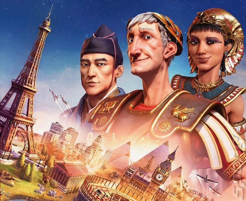 Civilization VI (Switch) Editorial image