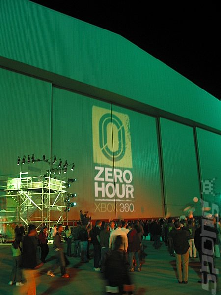 "Xbox 360 ""Zero Hour"" Photo Feature Editorial image"