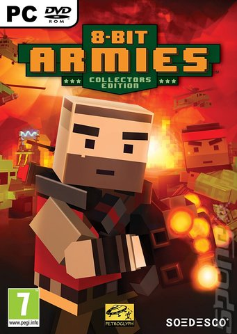 8-Bit Armies - PC Cover & Box Art
