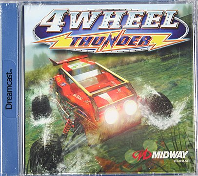 4 Wheel Thunder - Dreamcast Cover & Box Art