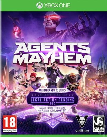 Agents of Mayhem Editorial image