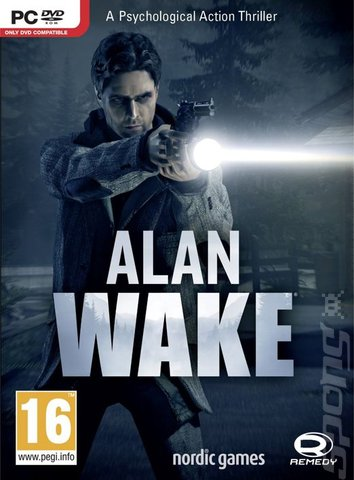 Alan Wake - PC Cover & Box Art