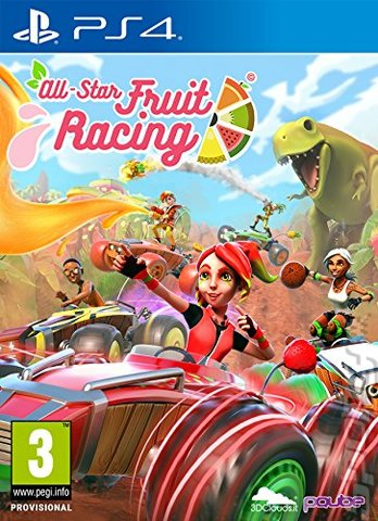 All-Star Fruit Racing - PS4 Cover & Box Art
