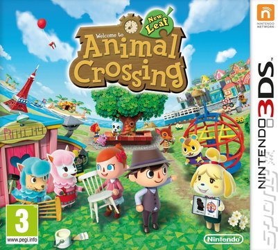 Animal Crossing: New Leaf - 3DS/2DS Cover & Box Art