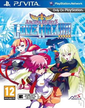 Arcana Heart 3 LOVE MAX!!!!! - PSVita Cover & Box Art