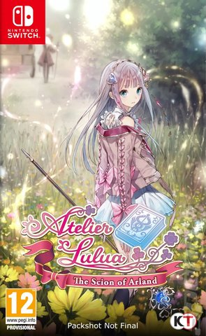 Atelier Lulua: The Scion of Arland - Switch Cover & Box Art
