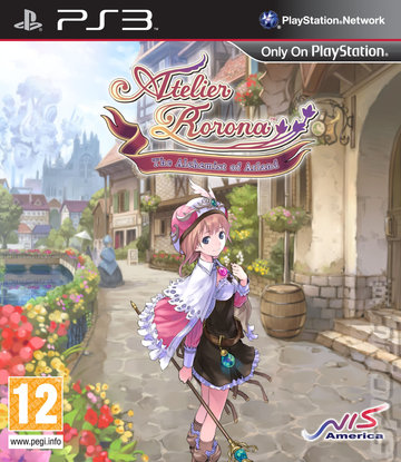 Atelier Rorona: The Alchemist of Arland - PS3 Cover & Box Art