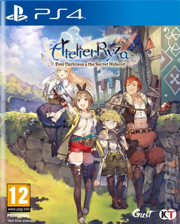 Atelier Ryza: Ever Darkness & the Secret Hideout - PS4 Cover & Box Art