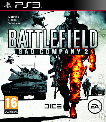 Battlefield: Bad Company 2 - PS3 Cover & Box Art