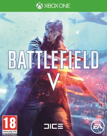 Battlefield V - Xbox One Cover & Box Art