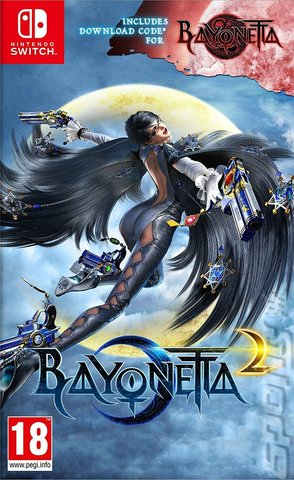 Bayonetta 2 - Switch Cover & Box Art