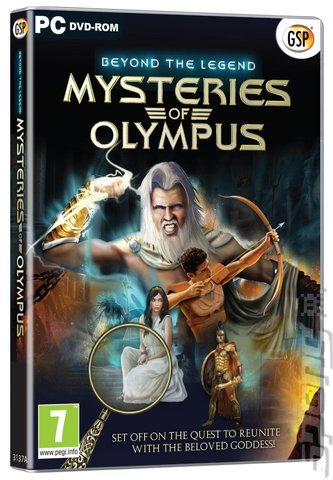 Beyond The Legend: Mysteries Of Olympus - PC Cover & Box Art