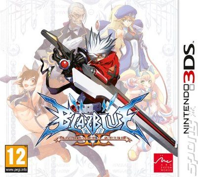 BlazBlue: Continuum Shift 2 - 3DS/2DS Cover & Box Art
