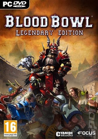 Blood Bowl: Legendary Edition - PC Cover & Box Art