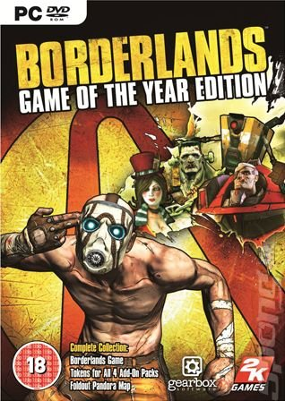 Borderlands: Game of the Year Edition - PC Cover & Box Art
