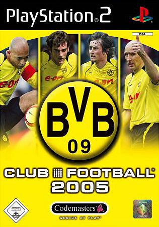 Cover   Box Art  Borussia Dortmund Club Football 2005   PS2  1 of 1