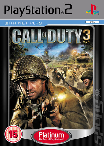 call of duty 3 ps2. Call of Duty 3 (PS2) Cover