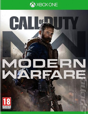 Call Of Duty: Modern Warfare - Xbox One Cover & Box Art