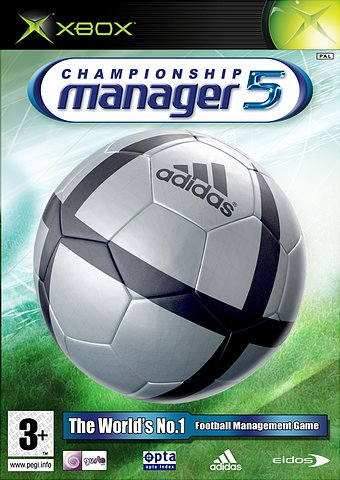 Championship Manager 5 - Xbox Cover & Box Art