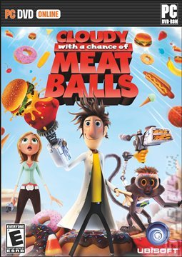 Cloudy With a Chance of Meatballs - PC Cover & Box Art