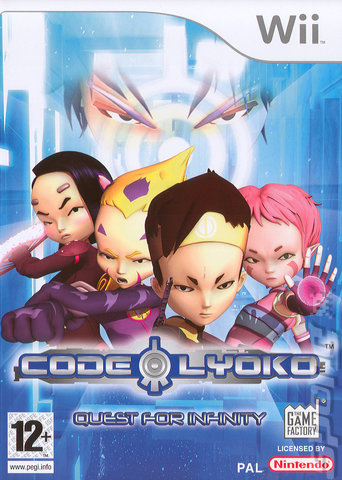Codigo Lyoko: Quest For Infinity [Wii][Pal[FLS-FLN]