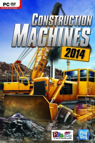 Construction Machines 2014 - PC Cover & Box Art