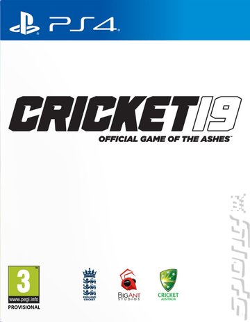 Cricket 19: The Official Game of the Ashes - PS4 Cover & Box Art