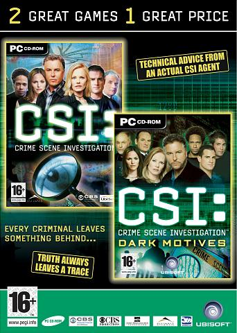 CSI Double Pack - PC Cover & Box Art