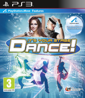 Dance! It's Your Stage - PS3 Cover & Box Art