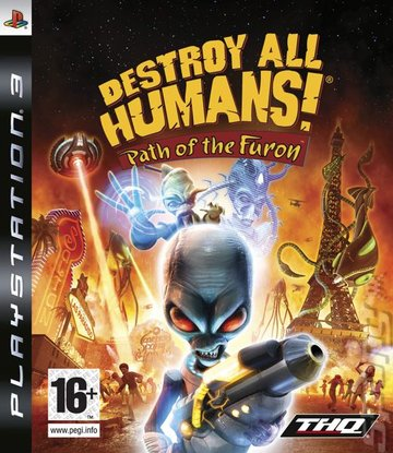 Destroy All Humans!: Path of the Furon (PS3) Editorial image