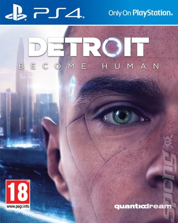 Detroit: Become Human - PS4 Cover & Box Art