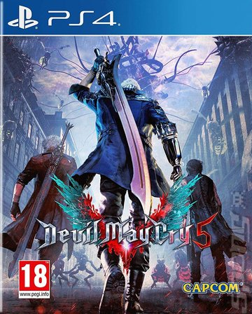 Devil May Cry 5 - PS4 Cover & Box Art
