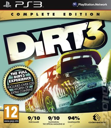 covers box art dirt 3 complete edition ps3 1 of 1. Black Bedroom Furniture Sets. Home Design Ideas