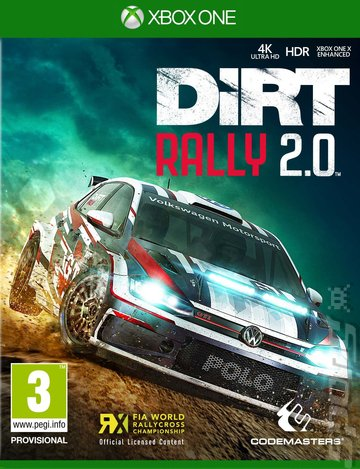DiRT Rally 2.0 - Xbox One Cover & Box Art