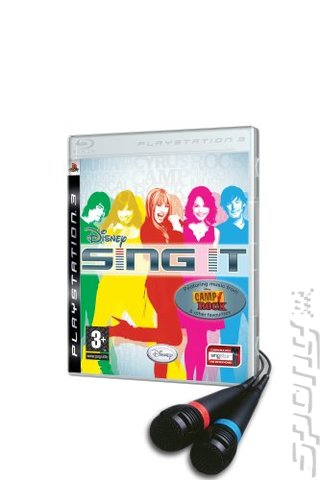 Disney Sing It - PS3 Cover & Box Art