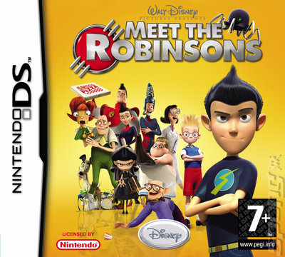 Meet the Robinsons - DS/DSi Cover & Box Art